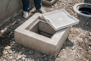 grease-trap-outside-building